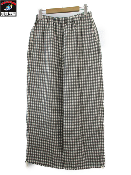 tricot COMME des GARCONS ギンガムチェック パンツ 2017【中古】[▼]