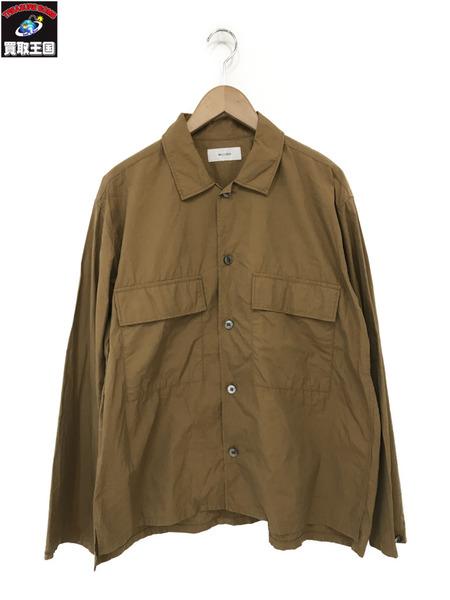 WELLDER/ウェルダー/19SS/Flap Pocket Boxy Shirt/フラップポケットシャツ/5【中古】