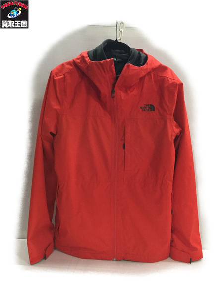 THE NORTH FACE ARROWOOD TRICLIMATE JACKET M 赤【中古】