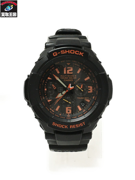 G-SHOCK ジーショック GW-3000B スカイコックピット 腕時計 ブラック【中古】