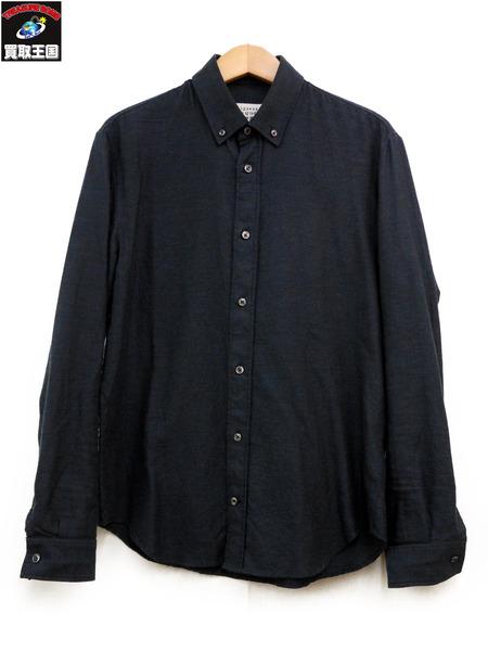 MAISON MARGIELA メゾンマルジェラ 17AW ボタンダウンシャツ (39)【中古】[値下]
