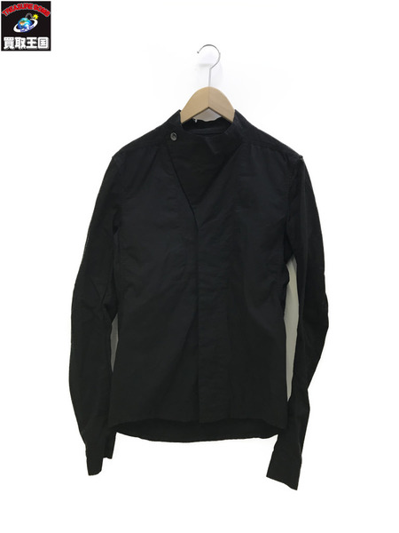 DRKSHDW COWL NECK JACKET (S) ブラック【中古】