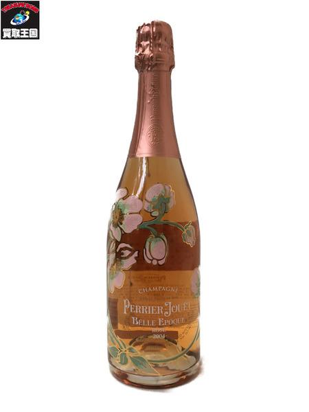 シャンパン 果実酒 PERRIER JOUET BELLE EPOQ ペリエ ジュエ ベル エポック ロゼ 2004 750ml 12.5% 【中古】