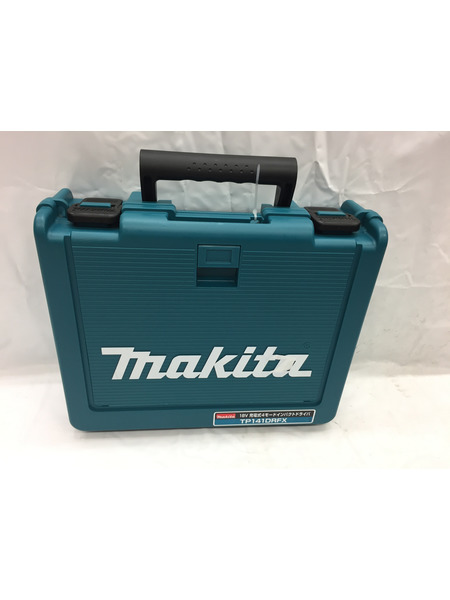 未使用 makita 18V充電式4モードインパクトドライバ TD141DRFX【中古】