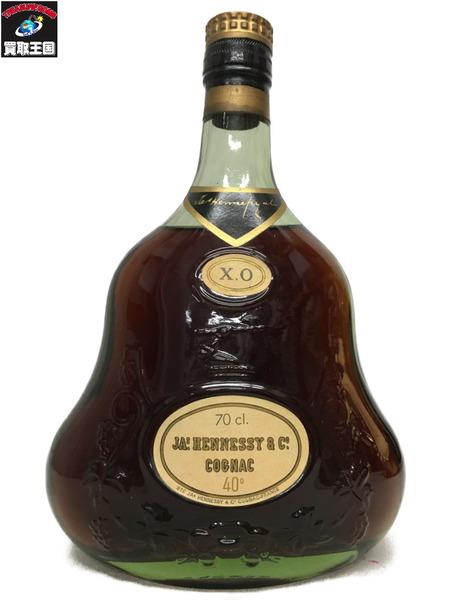 JAS HENNESSY XO 金キャップ グリーンボトル 700ml 40%【中古】