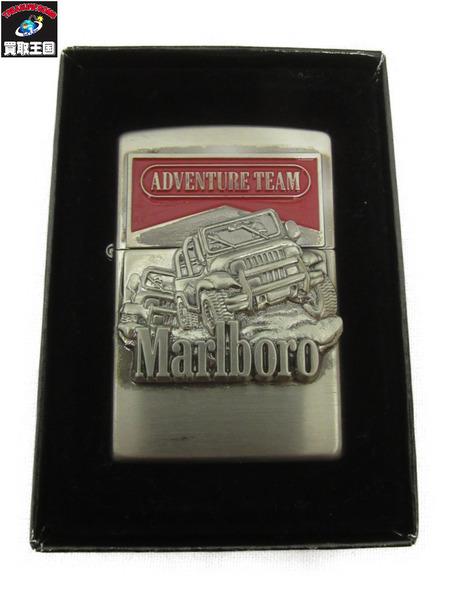 ZIPPO Marlboro ADVENTURE TEAM/非売品/98年製/未着火/箱付【中古】[▼]