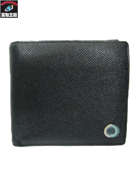 BVLGARI/ブルガリブルガリ/グレインレザー/二つ折り財布【中古】[値下]