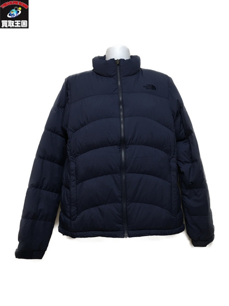 THE NORTH FACE ACONCAGUA JACKET ネイビー NDW91647 (L)【中古】