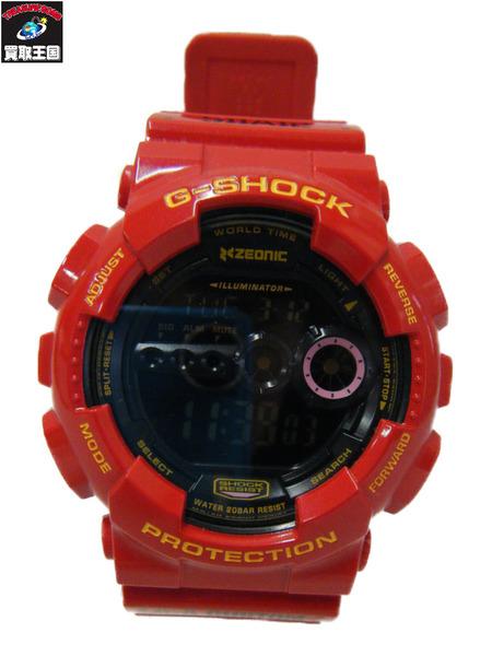 CASIO G-SHOCK シャア専用 赤い彗星 GD-100【中古】