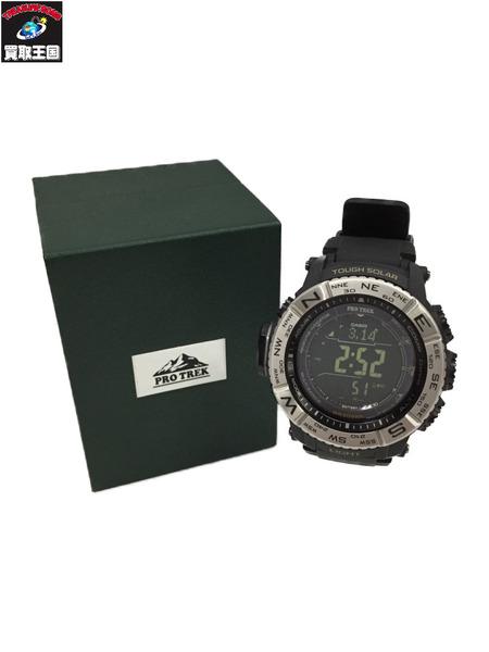 CASIO PRO TREK 腕時計 デジタル 黒 PRW-3510【中古】