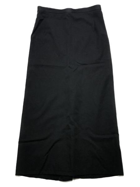 Yohji Yamamoto/Wool Skirt/18SS/Black【中古】[▼]