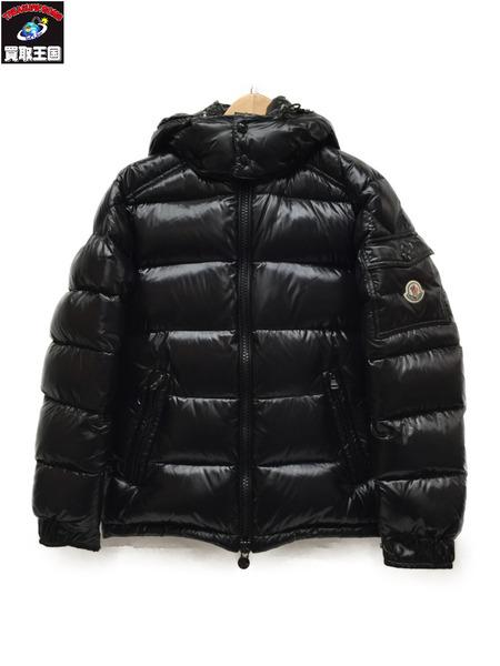 MONCLER MAYA GIUBBOTTO ダウンジャケット Size0 BLK モンクレール マヤ【中古】