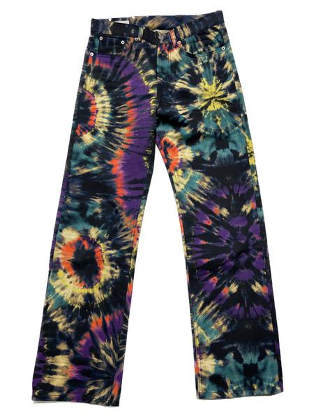 DRIES VAN NOTEN 19AW Tie Dye Jeans【中古】[▼]