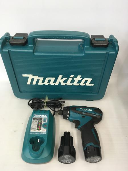 makita 10.8V充電式ドライバドリル DF030DWX【中古】