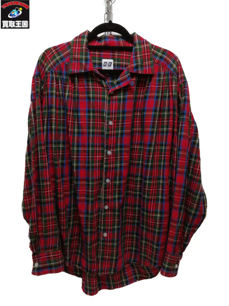 AiE/18AW/PAINTER SHIRT MULTI PLAID/チェックシャツ/S【中古】[▼]