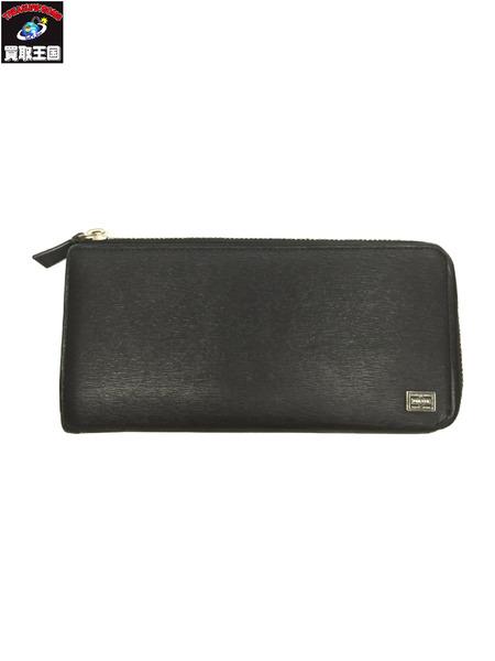 PORTER long wallet BLK【中古】