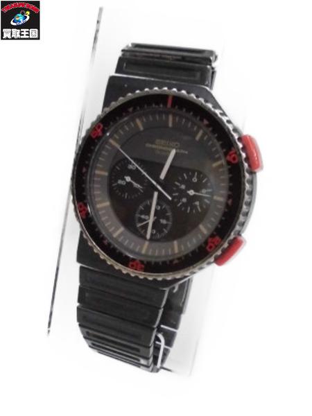SEIKO 80s SPEEDMASTER ジウジアーロデザイン 腕時計 クロノグラグ【中古】[▼]