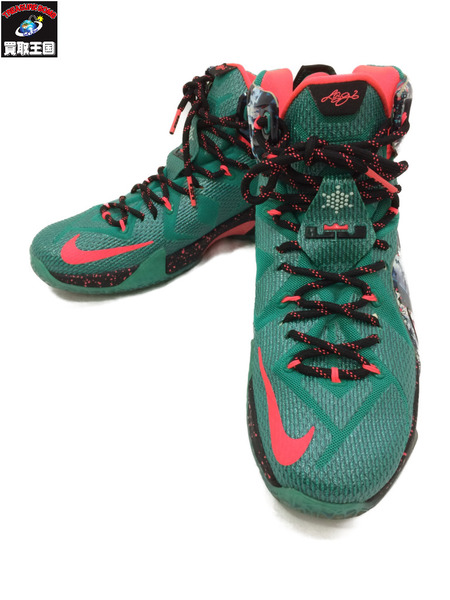 super popular 98b79 2fd22 Nike NIKE LEBRON 12 XMAS (28) 707,558-363