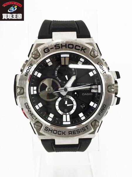 G-SHOCK GST-B100 ブラック×シルバー【中古】