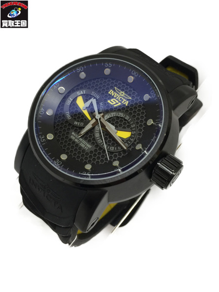 INVICTA 12789 S1 Rally Black Textured Dial インビクタ インヴィクタ クォーツウォッチ 腕時計【中古】