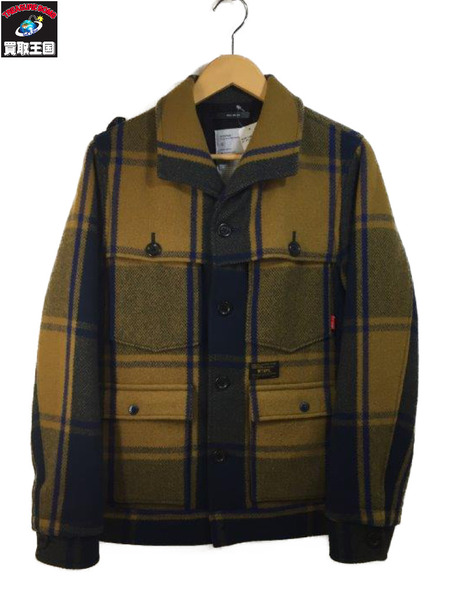 WTAPS LAMBER JACK ウールジャケット 12AW (SIZE:2)【中古】