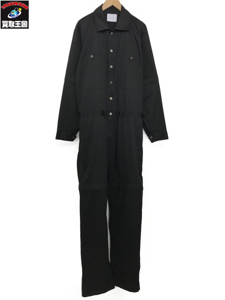 SUB-AGE オーバーサイズオールインワン (2) ブラック【中古】[▼]