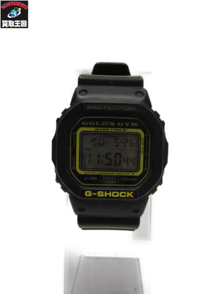 CASIO G-SHOCK DW-5600VT GOLD'S GYM 20周年コラボ【中古】