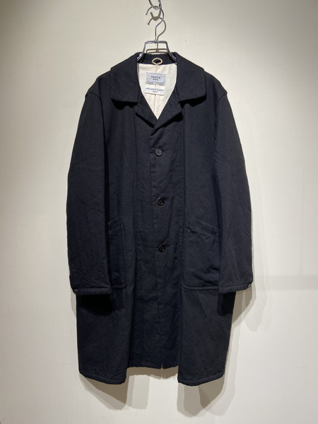 YAECA WRITE/16AW/DUSTER COAT/S/ブラック【中古】