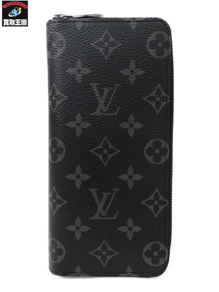 LV モノグラムエクリプス/ジッピーウォレットヴェルティカル M62295【中古】[▼]