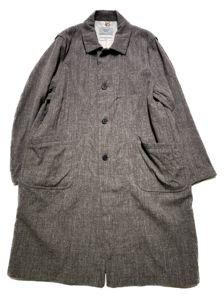 YAECA WRITE/19AW/DUSTER COAT/M/ブラウン【中古】