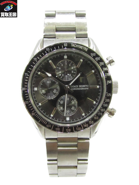 DOLCE&GABBANA SM101 クロノグラフ 腕時計 ドルチェアンドガッバーナ ドルガバ クォーツ【中古】