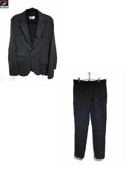Engineered Garments/セットアップ/S/32/黒【中古】