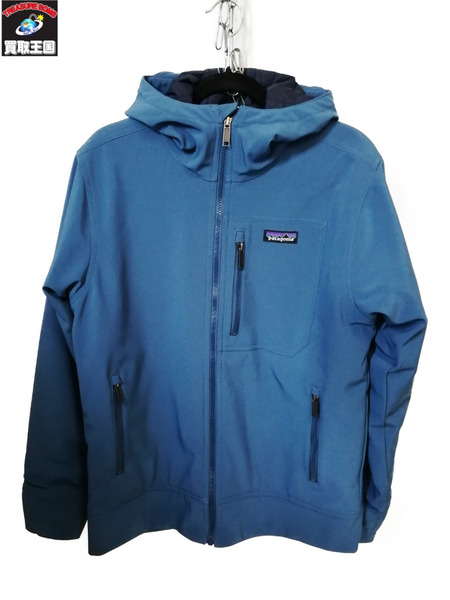 patagonia/パタゴニア/Insulated Sidesend Hoodyサイズ/S/BLU【中古】[▼]