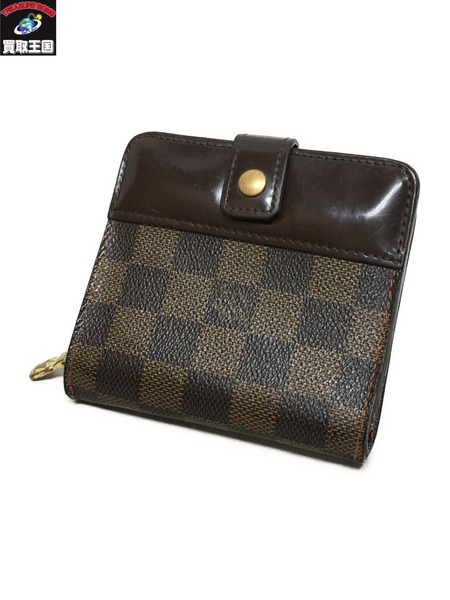 LOUIS VUITTON ダミエ コンパクトジップ N61668【中古】