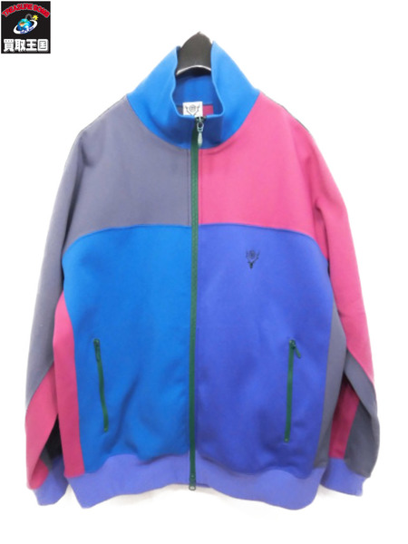 South2 West8 Trainer Jacket 4 Poly Smooth/クレイジーパターントラックJKT【中古】