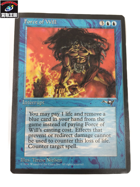 Magic The Gathering Force of Will 『意志の力』【中古】