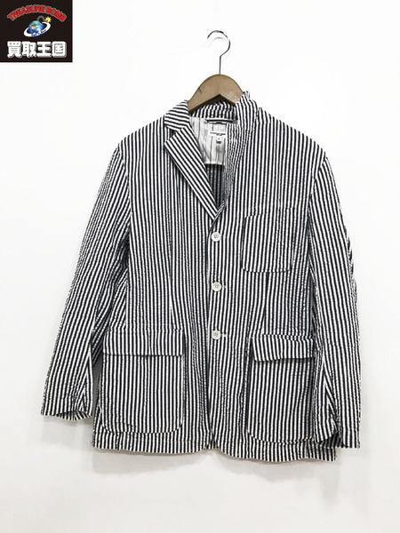 Engineered Garments シアサッカーストライプジャケット S【中古】