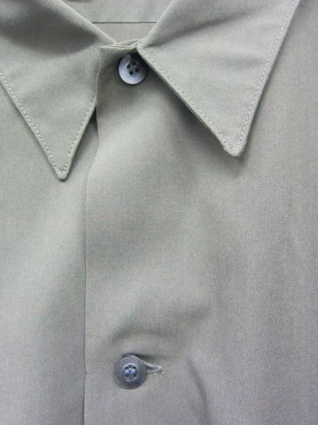 N.HOOLYWOOD 18AW レーヨンビッグシャツ 40 カーキ