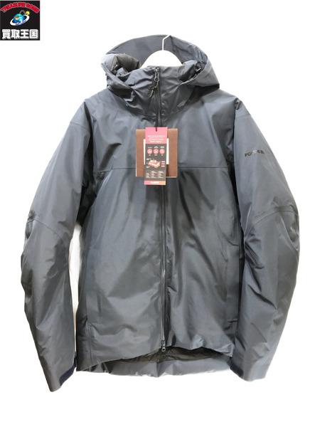 POLEWARDS シェルダウンジャケット/XL/ネイビー ポールワーズ【中古】