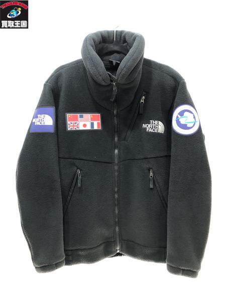 THE NORTH FACE Trans Antarctica Fleece Jacket SIZE M 黒 ザノースフェイス【中古】