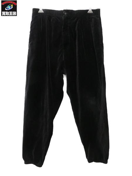 Engineered Garments/ベロア/ジョガーパンツ/黒/S【中古】