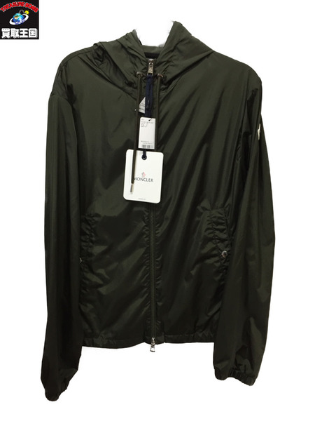 MONCLER/grimpeurs giubbotto/フードジャケット/2 カーキ モンクレール【中古】