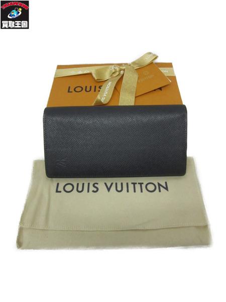 LOUIS VUITTON ルイヴィトン ポルトフォイユ・ブラザ 長財布 M30161【中古】