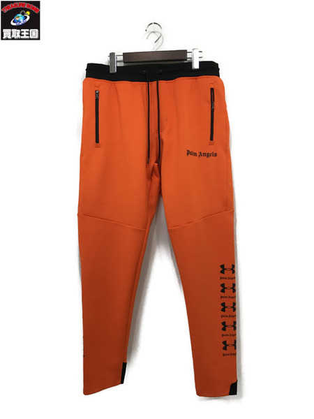 PALM ANGELS×UNDER ARMOUR 19SS SLIM TRACK PANTS/トラックパンツ (L)【中古】[▼]