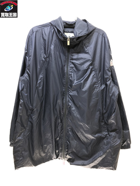 PYRENEX A zip food jacket blouson 紺 SIZE 38 HWN005 ピレネックス【中古】