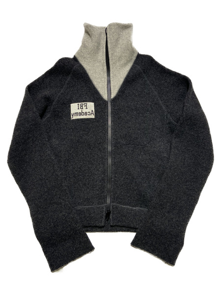 SUNSEA/17AW/REVERSIBLE RETRO-Y DRIVING SWEATER/3/GRY【中古】[▼]