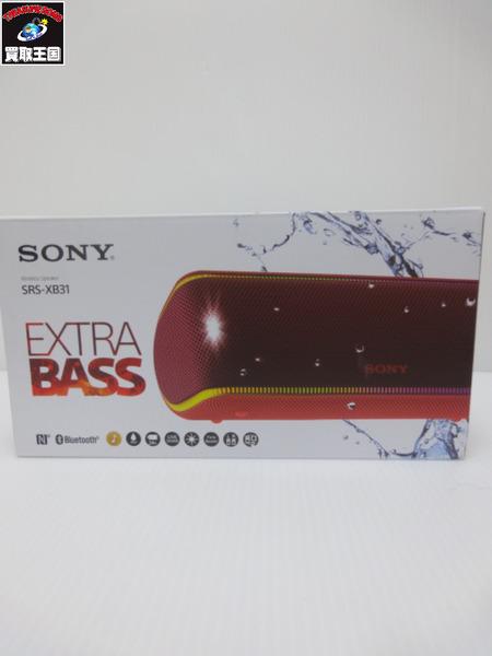 SONY SRS-XB31 ワイヤレススピーカー【中古】