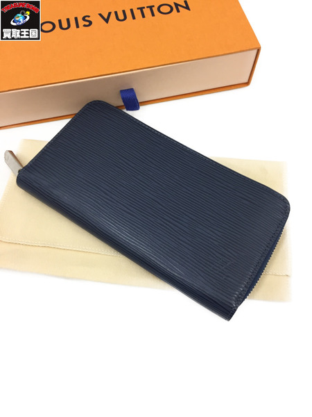 LOUIS VUITTON 新型 ジッピーウォレット アンディゴブルー エピ M61873【中古】
