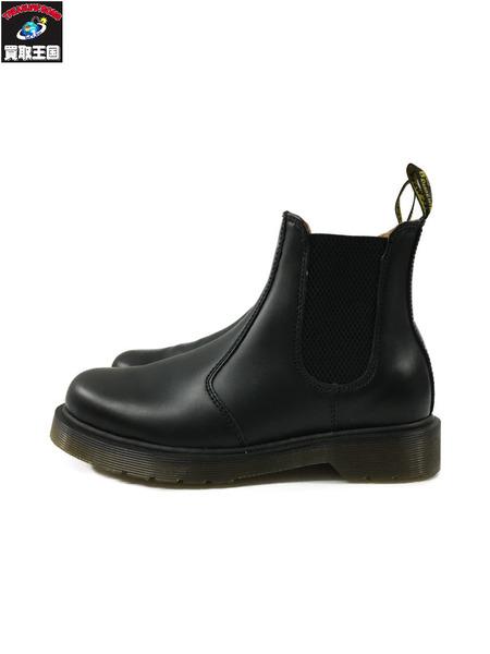 Dr.Martens 2976/SMOOTH/チェルシーブーツ/サイドゴアブーツ UK4(23.0cm) 黒【中古】