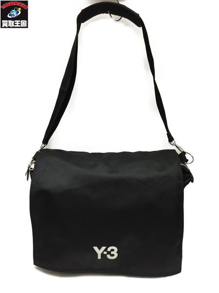 Y-3 ショルダーバッグ 黒【中古】